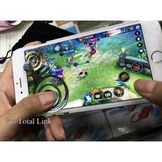 อย่าช้า  จอยเกมส์มือถือ (2 ชิ้น) เทพเกม Rov ต้องมีทุกเกมที่ใช้ระบบสัมผัสนิ้วโป้ง (Android / iPhone iPad) i-JoystickFor All Mobile Brand  ราคาเพียง  83 บาท  เท่านั้น คุณสมบัติ มีดังนี้ ใช้ได้กับทุกเกมที่ใช้ระบบสัมผัสนิ้วโป้ง เทพ&Rov ต้องมี& เพิ่มความแม่นยำในการควบคุมบังคับในการเล่นเกม ใช้ได้กับมือถือระบบส้มผัสทุกยี่ห้อ ไม่ต้องใช้สายไฟหรือแบตเตอรี่ การถอดออกและปรับตำแหน่งได้จะไม่เกิดความเสียหายกับหน้าจอของคุณ