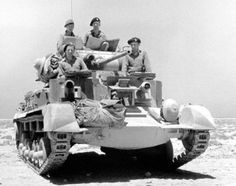 Cruiser Tank Mk.I in North Africa.