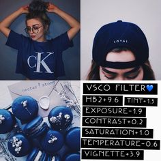 VSCO filter •• Filter works great with cool and anything that has the color blue ••• #vscocam
