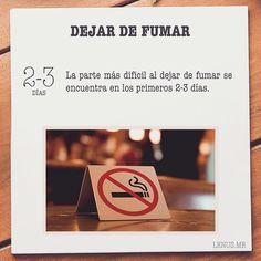 A seguir persistiendo para dejar de #Fumar   #Salud