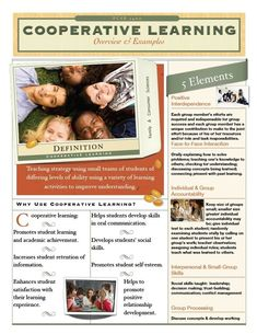 Cooperative Learning Overview & Examples - PDF Download available.