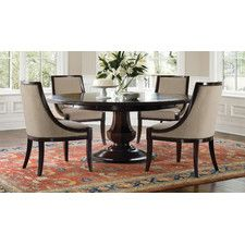 Love this Round Pedastal Dining Table!