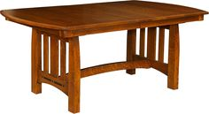 The Boulder Creek Trestle Table is definitely one of our most popular styles you can buy for your table.