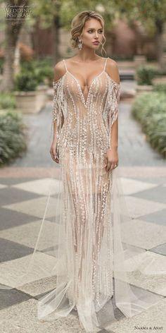 naama ana Frühling 2019 Braut langärmelige Schatzausschnitt volle Verschönerung  #braut #fruhling #langarmelige #naama #schatzausschnitt #verschonerung #volle #Fashion