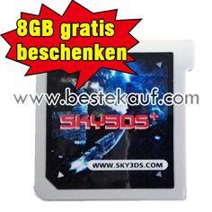 Gute Nachricht! Wenn Sie sky3ds+ bestellen, ausliefern kostenlosen 8GB Speicherkarte !  https://www.blogger.com/blogger.g?blogID=1561635586907296065#allposts/postNum=0