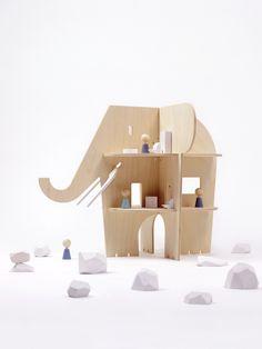 Casa delle bambole di design Rock & Pebble