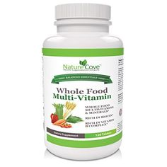 Cheap NatureCove Whole Food MultiVitamin  Made With Vegetables & Herbs  Rich in Biotin  Rich in Vitamin D  Rich in Vitamin B Complex & Vitamin B12  120 Tablets http://10healthyeatingtips.net/cheap-naturecove-whole-food-multivitamin-%e2%98%85-made-with-vegetables-herbs-%e2%98%85-rich-in-biotin-%e2%98%85-rich-in-vitamin-d-%e2%98%85-rich-in-vitamin-b-complex-vitamin-b12-%e2%98%85-120-tab/