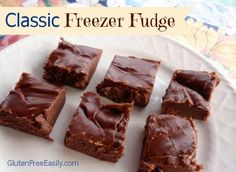 Classic Freezer Fudge ... great way to show some sweet love to your Valentine!