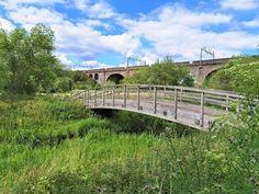 Places In England, Garden Bridge, Outdoor Structures