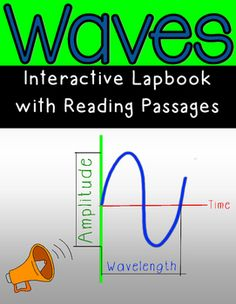 **Aligns to 4th Grade NGSS**This package includes 10 interactive activities for a Waves Lapbook or an interactive science notebook. Each activity includes student directions. I have also included a sample of how a lapbook can be put together. This package includes 4 reading passages for water waves, sound waves, seismic waves, and waves on a string.
