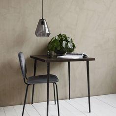 Køkknebord - spisebord til 2 personer Table Bar, Cafe Tables, Glass Table, Wood Table, Dining Table, House Doctor, Table Furniture, Home Furniture, Style Brut