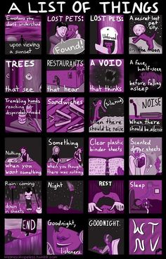 Night Vale - episode 2- a list of things