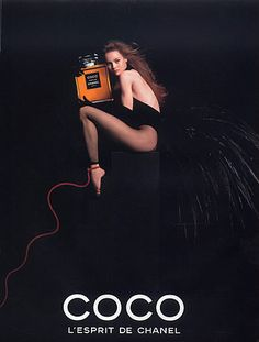 Chanel (Perfumes) 1991 Coco, Vanessa Paradis - Parfumerie et parapharmacie - Parfumeries - Chanel