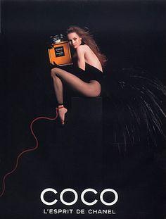 Chanel (Perfumes) 1991 Coco, Vanessa Paradis