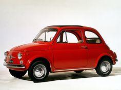 Fiat Nuova 500- reminds me of my Mum