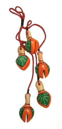 Beautiful #terracotta hanging #bell shop online from #craftshopsindia  Price: INR 450 ( Cash On Delivery )