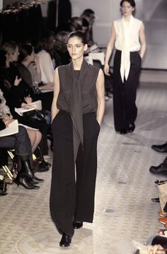 Hermès at Paris Fall 2001