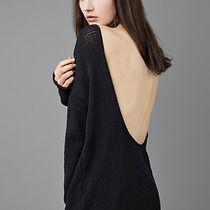 Backless Dress, swetry