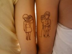 she & him... I want Doug and I to do something like this.. too cute!!