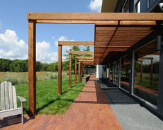 haus terrasse holz beton überdachung teil