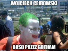 Reaction Pictures, Funny Pictures, Joker Meme, Hahaha Hahaha, Funny Lyrics, Polish Memes, Funny Memes, Jokes, Batman