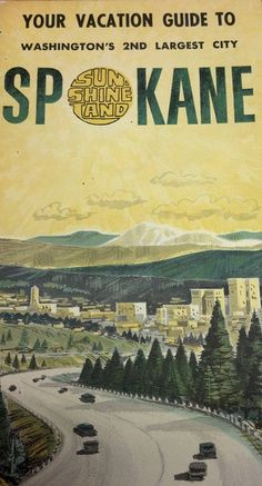 Spokane Vacation Guide, and yes I lived nearby once upon a time. Spokane Washington, Washington State, Bodega Bay Camping, Rv Camping, Tourist Map, Evergreen State, France Travel, Pacific Northwest, Vacation Spots