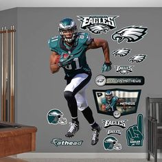 Fathead Philadelphia Eagles Jordan Matthews Decal - Wall Sticker Outlet