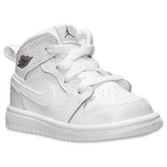Boys' Toddler Air Jordan Retro 1 Mid Basketball Shoes