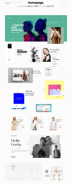 Showcase and discover creative work on the world& leading online platform for creative industries. Grid Web Design, Best Web Design, Site Design, App Design, Web Design Gallery, Webdesign Inspiration, Web Inspiration, Amazing Websites, Creer Un Site Web
