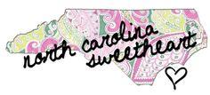 Half my heart belongs to California, half of it belongs to NC now <3