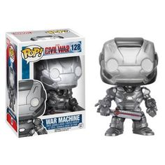 War Machine Collectible Vinyl Figure - Original Funko Pop Marvel Civil – One Geek  DETAILS & DIMENSIONS Product: War Machine Figures Product Size: 10 cm Material: PVC Age: Over 6 years old Type: Collectible Vinyl Doll Theme: Movie & TV Manufacturer: Funko