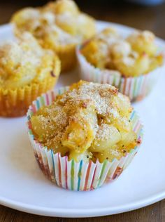 These Healthy Mac and Cheese Muffins are a fun, lunchbox friendly, spin on a…