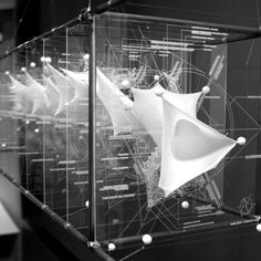 fabric study models in architecture Parametric Architecture, Parametric Design, Architecture Student, Interior Architecture, Interior Design, Ifa Berlin, Module Design, Design Innovation, Tensile Structures
