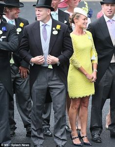 Mike Tindall joining wife Zara at Royal Ascot. Zara is not pictured here.