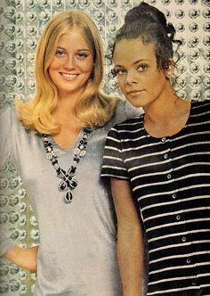 Good Housekeeping - December, 1969 Cybil Shepherd 1969 Fashion, Susan Dey, Cybill Shepherd, Teen Models, Housekeeping, 1970s, Jackson, December, Culture