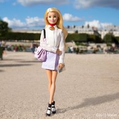 48.5 тыс. отметок «Нравится», 368 комментариев — Barbie® (@barbiestyle) в Instagram: «Snapped in the Tuileries wearing head-to-toe @Carven_paris, now off to the show!  #Carven #pfw…»
