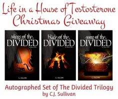 Win an autographed set of The Divided Trilogy 12/12