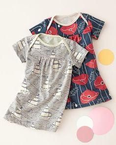 Rocking Horse Knit Baby Dress by Winter Water Factory - Garnet Hill