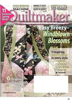 quiltmaker 132 - Joelma Patch - Álbuns da web do Picasa...FREE MAGAZINE!!