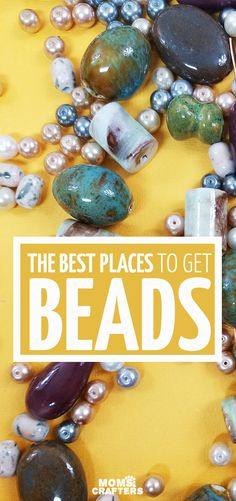 Click for some of my favorite places to buy beads online - these cool jewelry making tips for beginners help you learn a new hobby for you, your tween, or teen