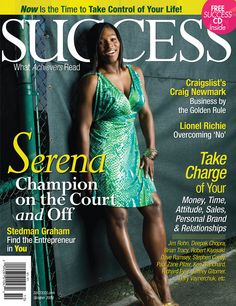 Take charge of your Money, Time, Attitude, Sales, Personal Brand & Relationships! Success Magazine, Business Magazine, Stedman Graham, Take Charge, Lionel Richie, 404 Page, Entrepreneur Inspiration, Serena Williams, Personal Branding