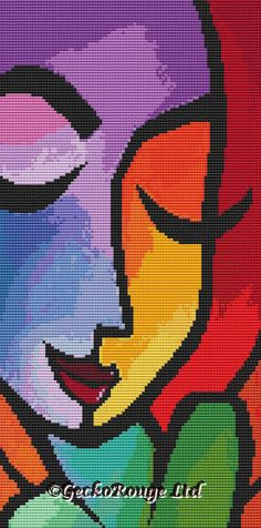 Cross Stitch Kits Gecko Rouge modern cross stitch are proud to announce that we have teamed up with artist ©Thomas Fedro to bring you unique modern cross stitch kits. Dragon Cross Stitch, Cross Stitch Tree, Modern Cross Stitch, Cross Stitch Kits, Cross Stitch Patterns, Cross Stitching, Cross Stitch Embroidery, Embroidery Patterns, Tapestry Crochet