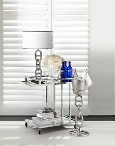 Eichholtz Beverly Hills Trolley TRENZSEATER specialises in dynamic New Zealand furniture, exclusive international brands Interior Deluxe, Lamp, Beveled Mirror, Modern Classic, Stainless Steel Bar, Glass Mirror, Steel Bar, Eichholtz, Rectangular Table Lamp