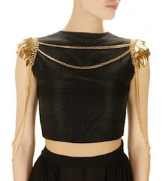 The Striking Body Chain - Accessories You MUST Try For Some Last-Minute Glamour-Bodychain