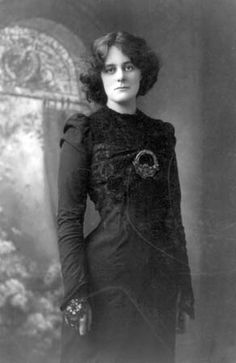 """Irish patriot, actress, and feminist, one of the founders of Sinn Féin (""""We Ourselves""""), and an early member of the theatre movement started by her longtime suitor, W.B. Yeats...."""