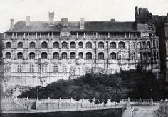 Francois Alphonse Fortier - Chateau de Blois, 1853