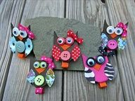 The Cutest Owl hair clippies!