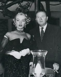 Marilyn Monroe and Wally Brown in As Young As You Feel