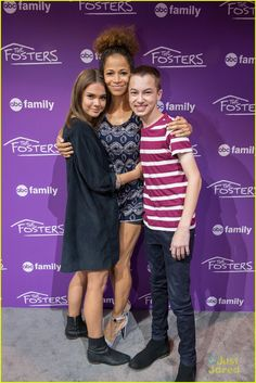 839 best the fosters images on pinterest in 2018 adam foster maia mitchell jonathan sadowski hit up abc family meet greet at expo photo maia mitchell sticks her tongue for a fun selfie with sherri saum and hayden m4hsunfo