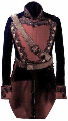 1840's Mexican Regimental Officer's Dress Jacket